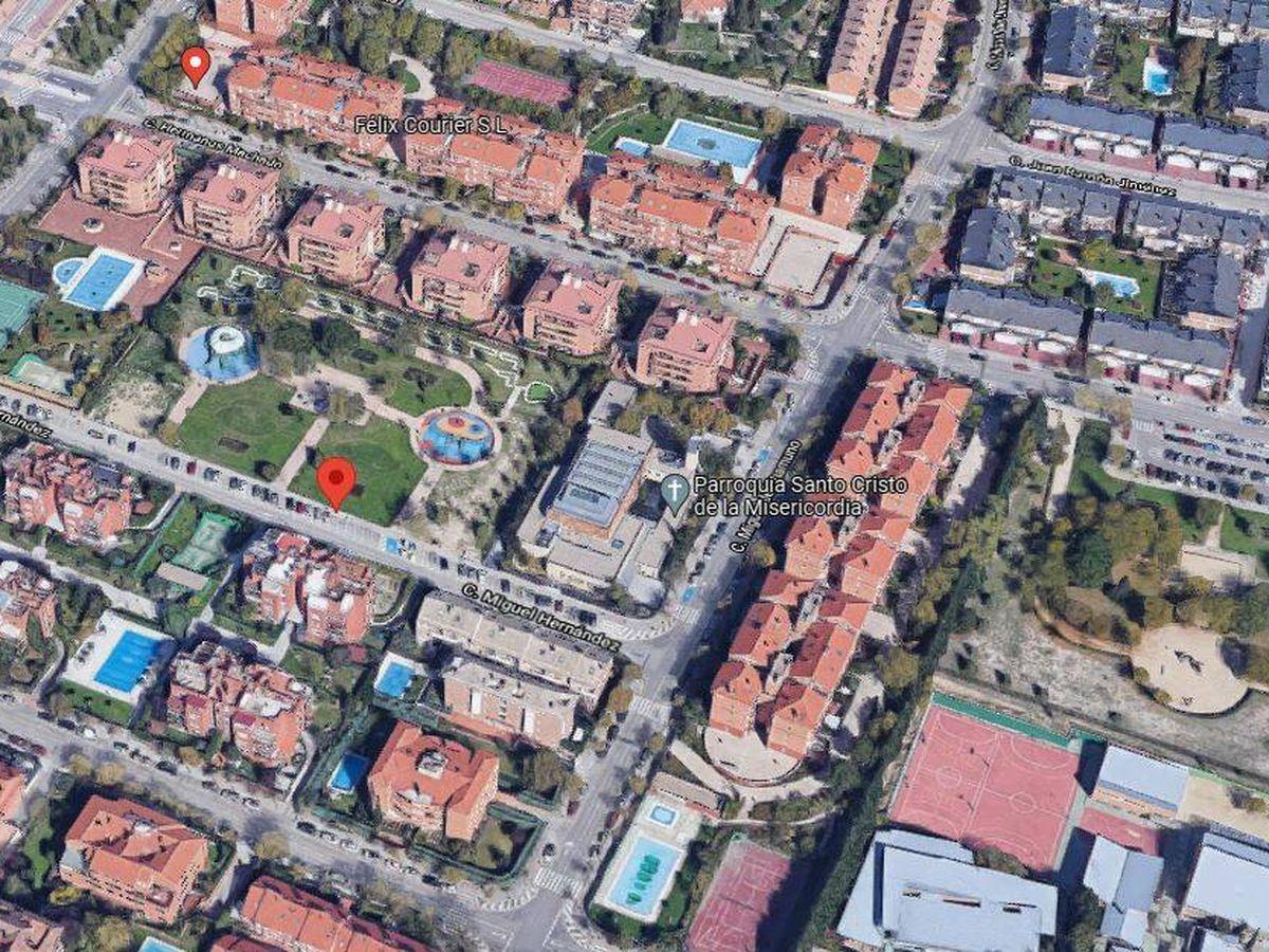 Foto: Imagen aérea de Boadilla del Monte.