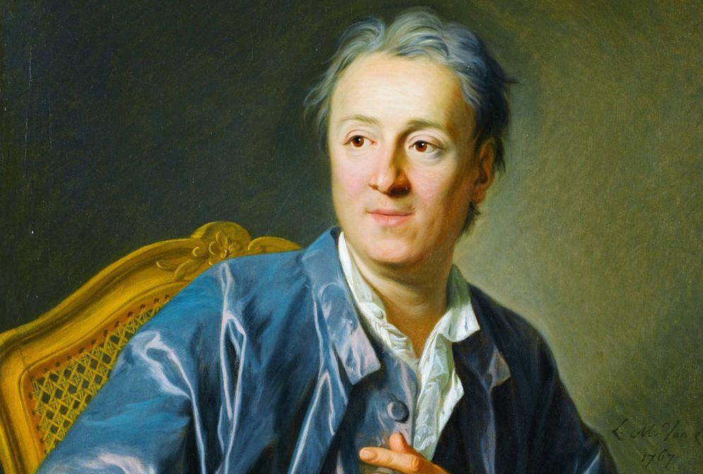 Foto: 'Retrato de Denis Diderot' (1767), de Louis-Michel van Loo