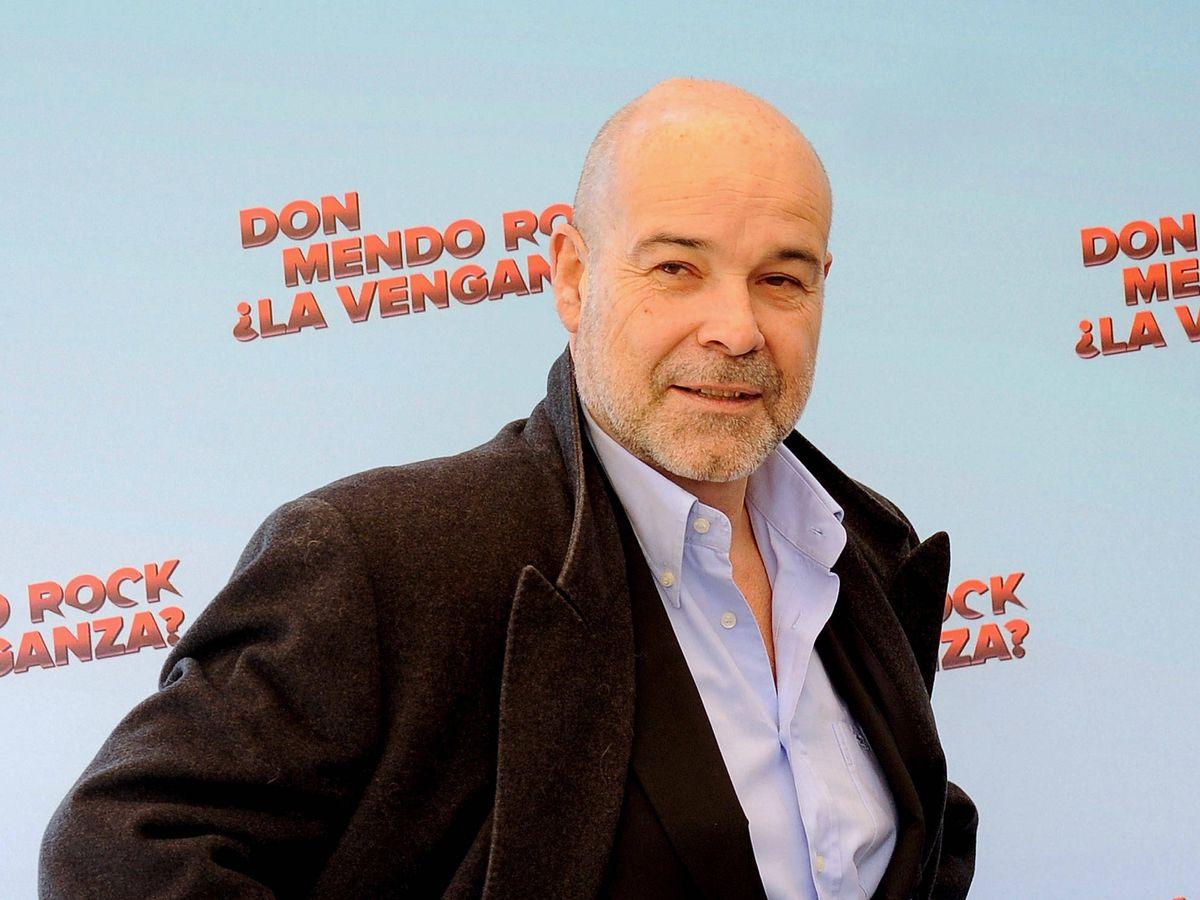 Foto: El actor Antonio Resines, en el estreno de 'Don Mendo Rock, ¿la venganza?'. (Getty)