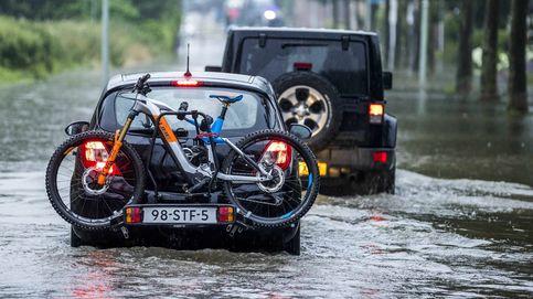 Inundaciones en Países Bajos y sequía en California: el día en fotos