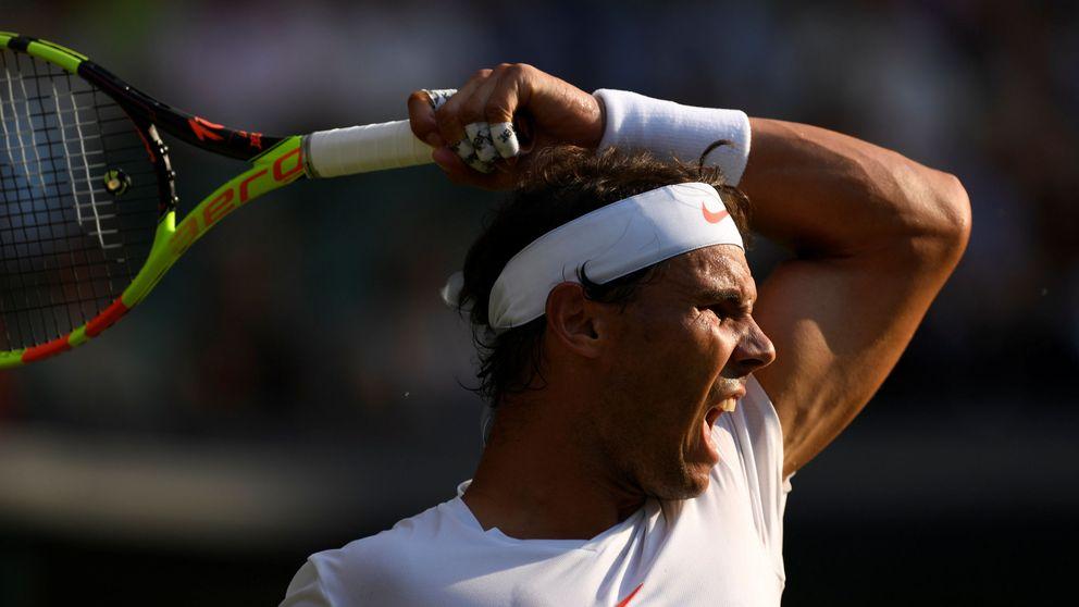 Nadal tumba a Juan Martín del Potro tras cuatro horas en Wimbledon