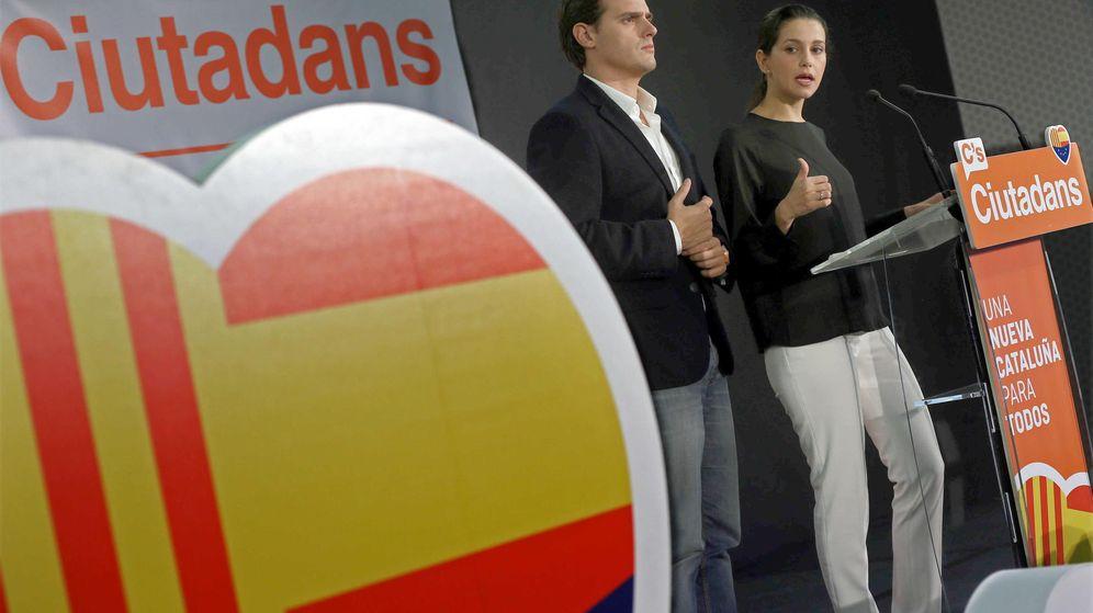 Foto: Inés Arrimadas y Albert Rivera. (EFE)