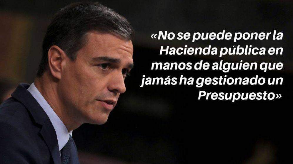 Foto: El candidato socialista, Pedro Sánchez, durante la segunda votación del debate de investidura (Reuters)
