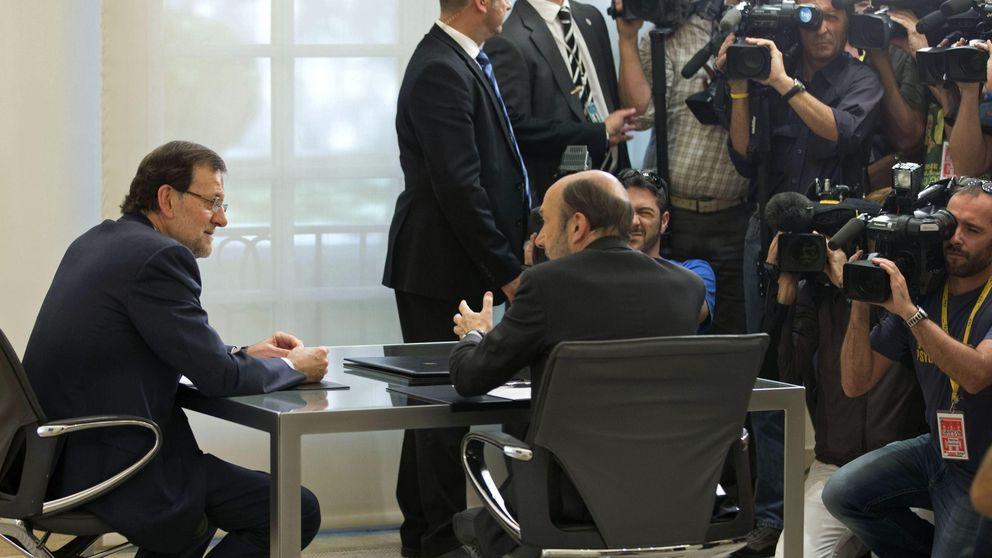 Rajoy se juega la estabilidad de su gobierno, Rubalcaba, el cargo