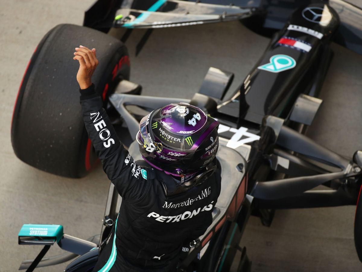 Foto: Nueva pole de Hamilton en Rusia. (Reuters)