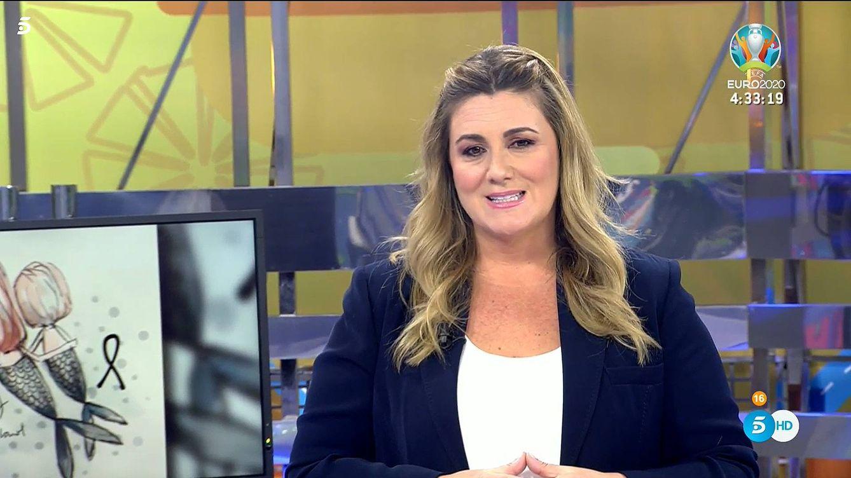 Carlota Corredera, a degüello en 'Sálvame' contra la violencia vicaria de Anna y Olivia