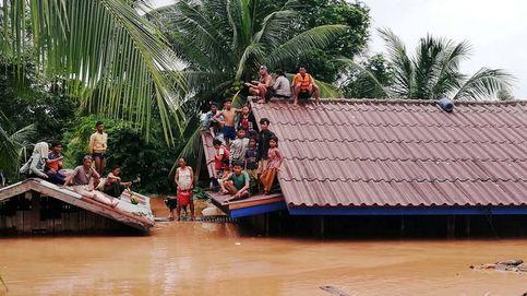 Sobrevivir a la rotura de una presa en Laos