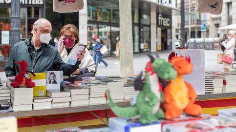 Triste Sant Jordi: la industria editorial siente el zarpazo de la pandemia el Día del Libro