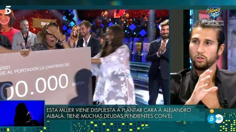 Olga y Gianmarco. (Telecinco).