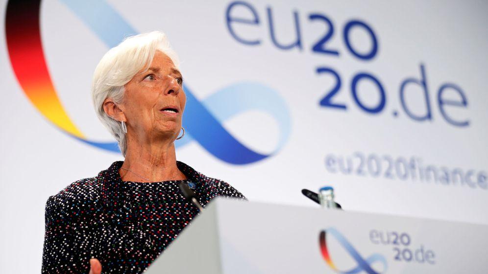 Foto: La presidenta del BCE, Christine Lagarde, en un acto en Berlín. (Reuters)