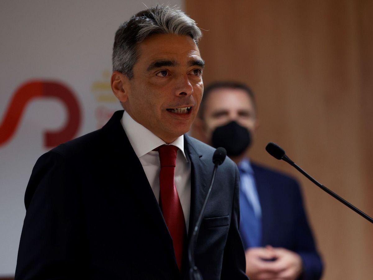 Foto: Albert Soler toma posesión de su cargo de director general del CSD. (EFE)