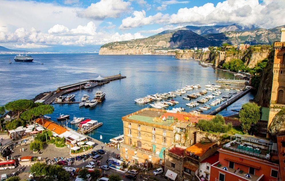 Foto: Sorrento. Foto: oficina de turismo