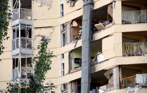 Foto: Los vecinos afectados por la explosión califican la situación de infierno indescriptible