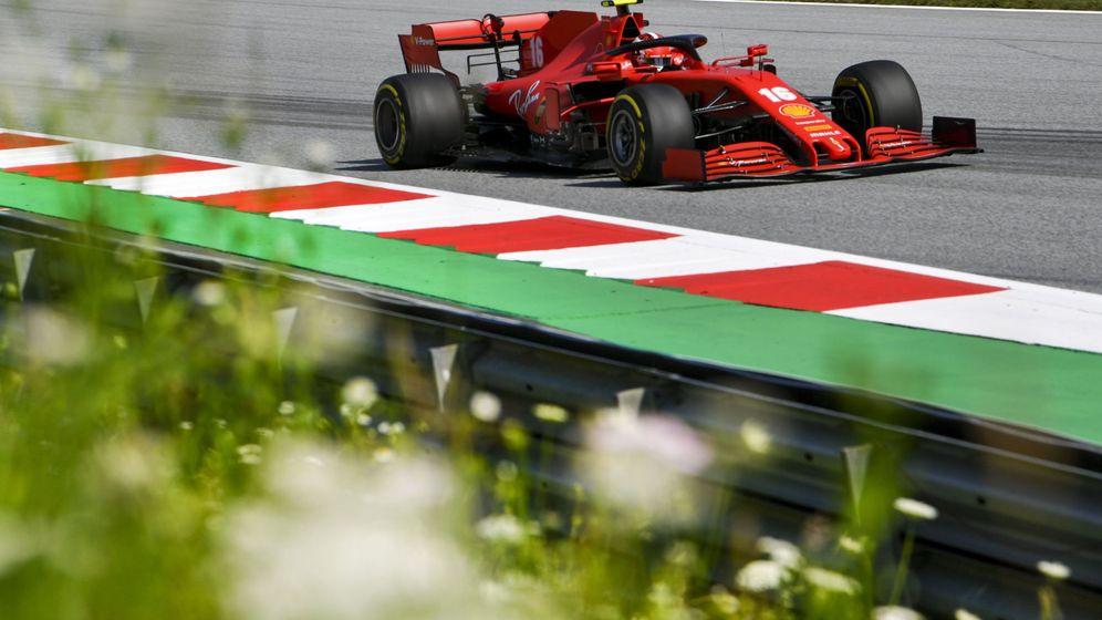 Foto: Ferrari tiene serios problemas para recortar terreno con Mercedes y Red Bull hasta 2022 (EFE)