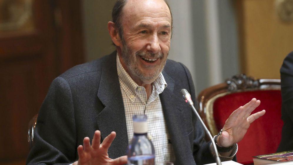Foto: El ex secretario general socialista Alfredo Pérez Rubalcaba. (EFE)