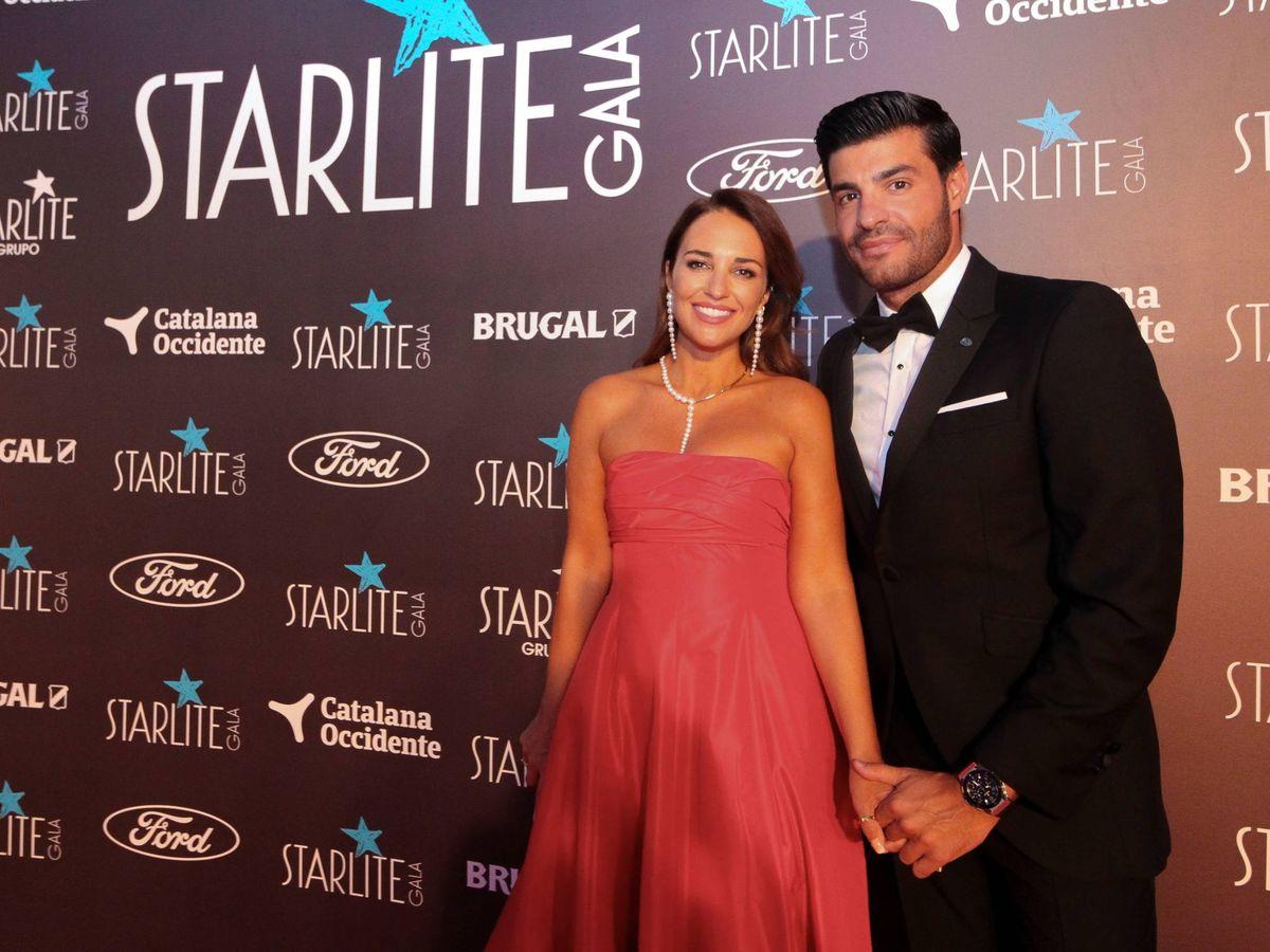 Foto: Paula Echevarría y Miguel Torres. (Imagen: Cortesía Gala Starlite)