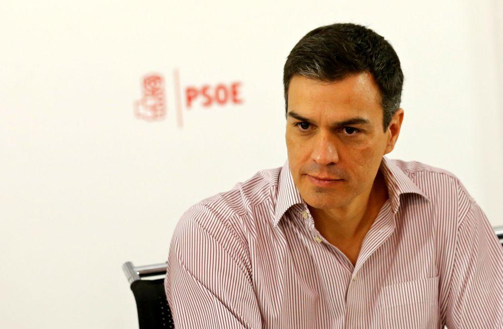 Foto: Pedro Sánchez, el pasado 27 de junio, durante la reunión del plenario de la ejecutiva federal que siguió a las generales. (Reuters)