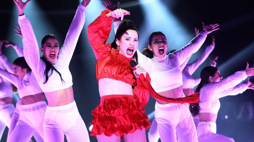 Foto: Soraya Arnelas como Rosalía en 'TCMS 7'. (Atresmedia)
