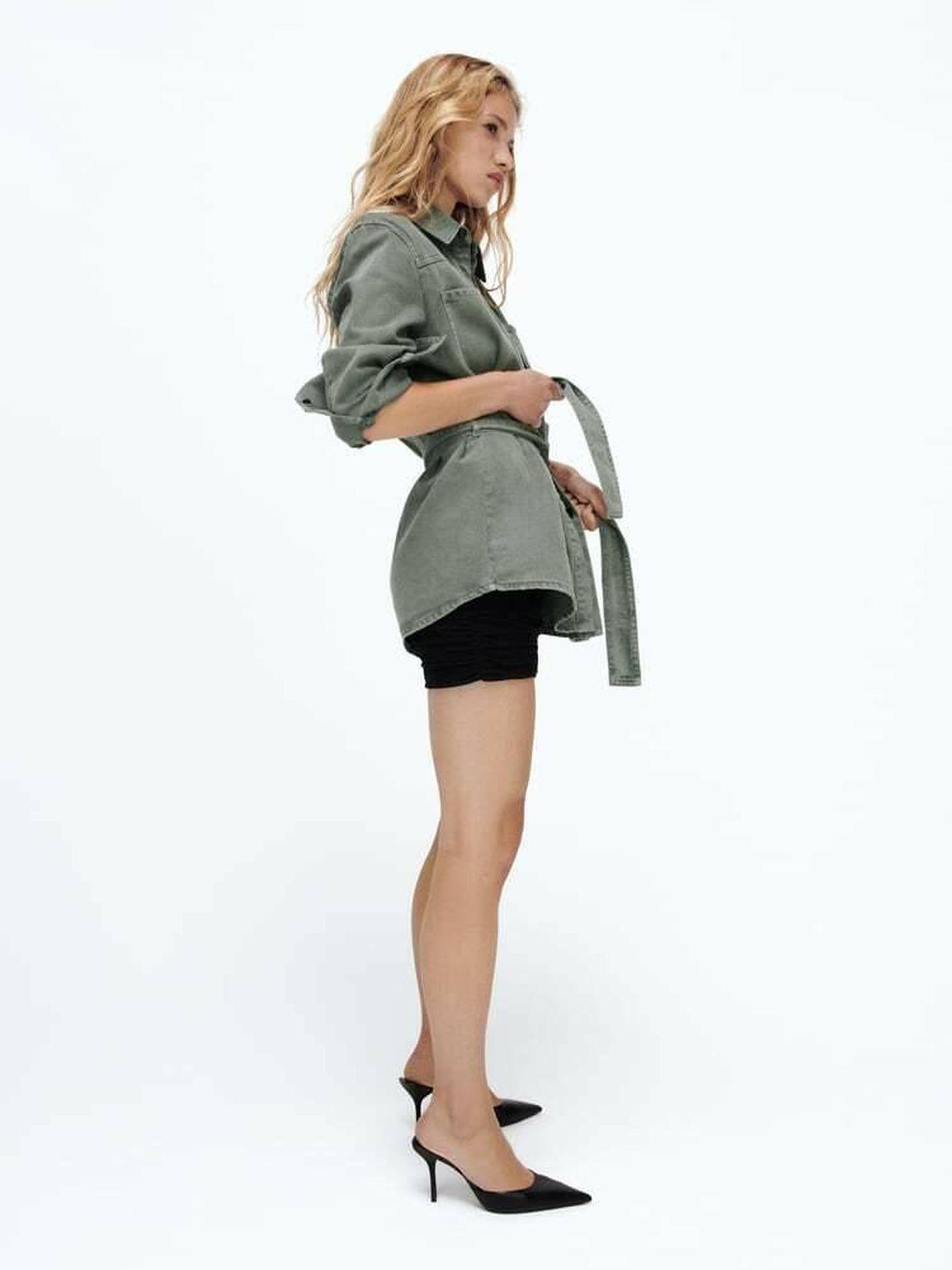 La nueva sobrecamisa de Zara. (Cortesía)