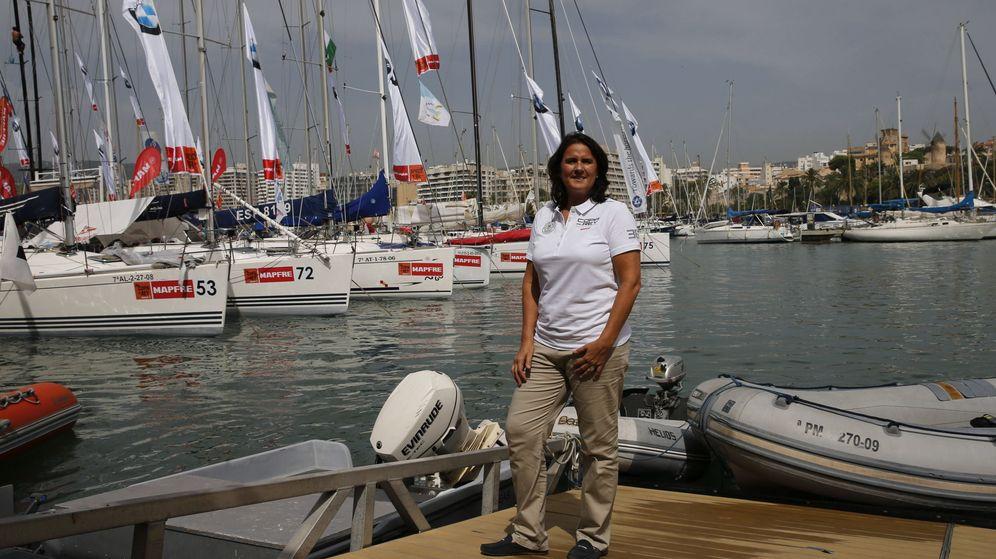 Foto: Conchita Martínez en Palma. (EFE)