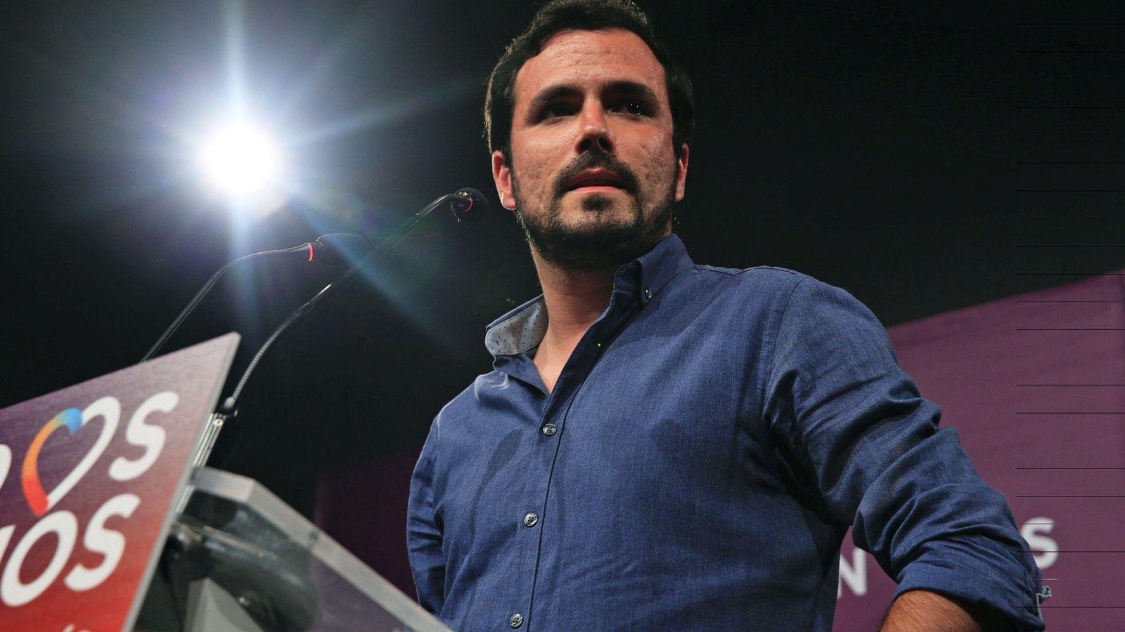 Foto: El coordinador general de IU, Alberto Garzón, ha liderado la denuncia. (EFE)