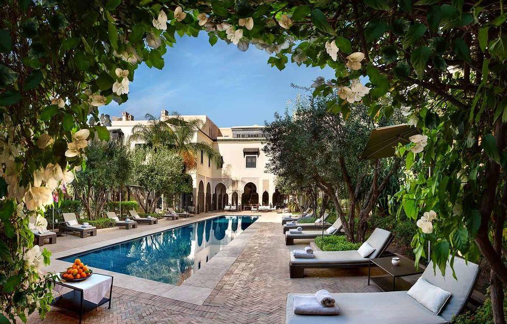 Foto: Así es Villa des Orangers, puro lujo marroquí en Marrakech y con naranjos. (Cortesía)