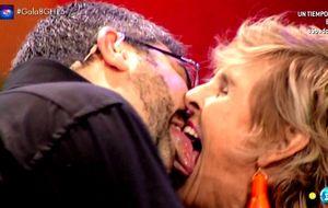 Desfase en 'GH': Milá mete la lengua hasta la campanilla a Flo