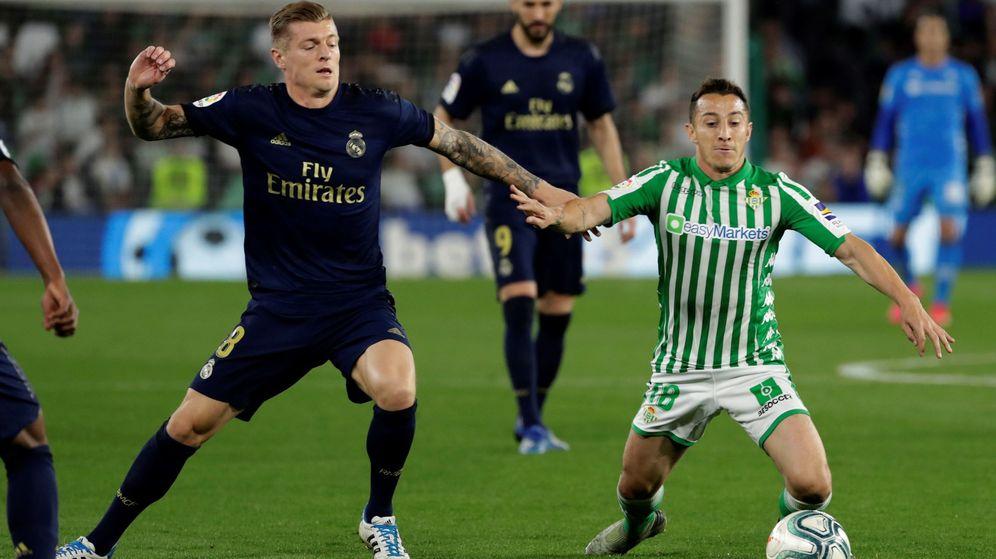 Foto: Toni Kroos fue titular contra el Real Betis y jugó 70 minutos. (EFE)