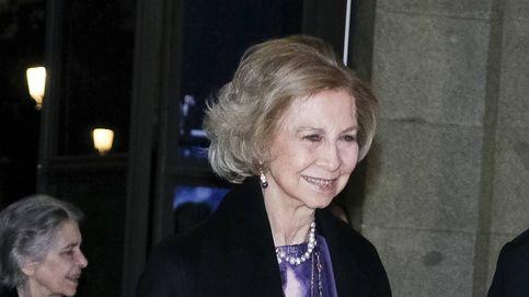 La reina Sofía estrena la agenda real de concierto junto a la princesa Irene