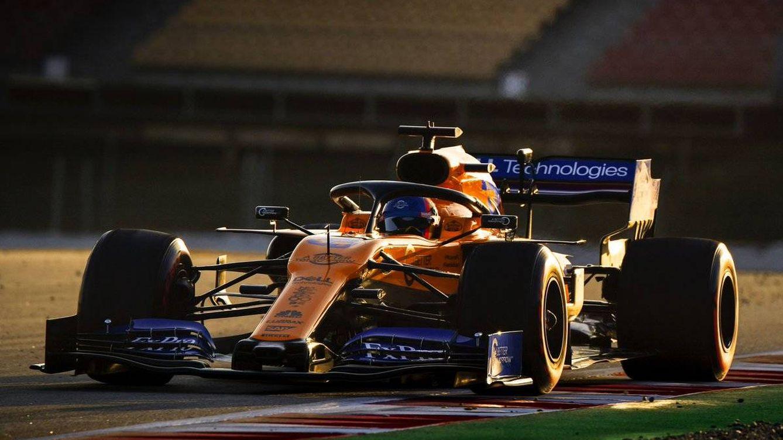 Foto: Carlos Sainz terminó segundo en la primer jornada de pretemporada de 2019. (McLaren)