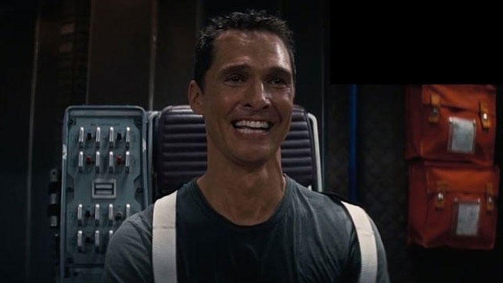 Matthew McConaughey llora de emoción al ver el tráiler de 'Star Wars: el despertar de la fuerza'