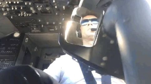 "Por este tipo de aterrizajes me gano mi sueldo"""