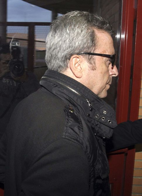 José Ortega Cano accediendo a la prisión de Zuera (EFE)