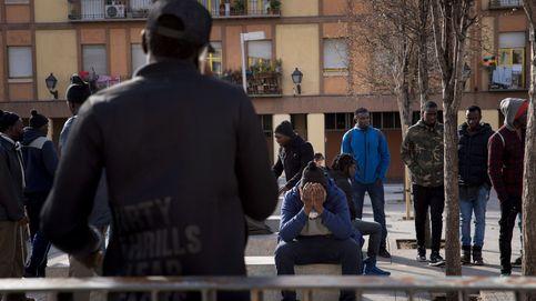 Calma tensa en Lavapiés tras nuevas cargas de la Policía contra grupos de senegaleses