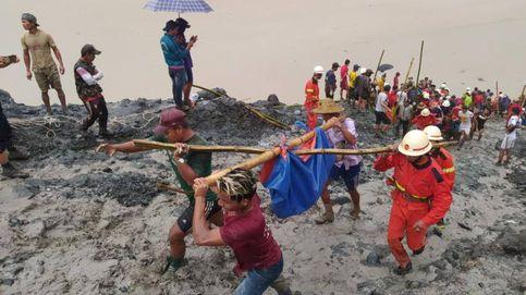 Más de 110 muertos en un deslizamiento de tierras en una mina de jade en Birmania