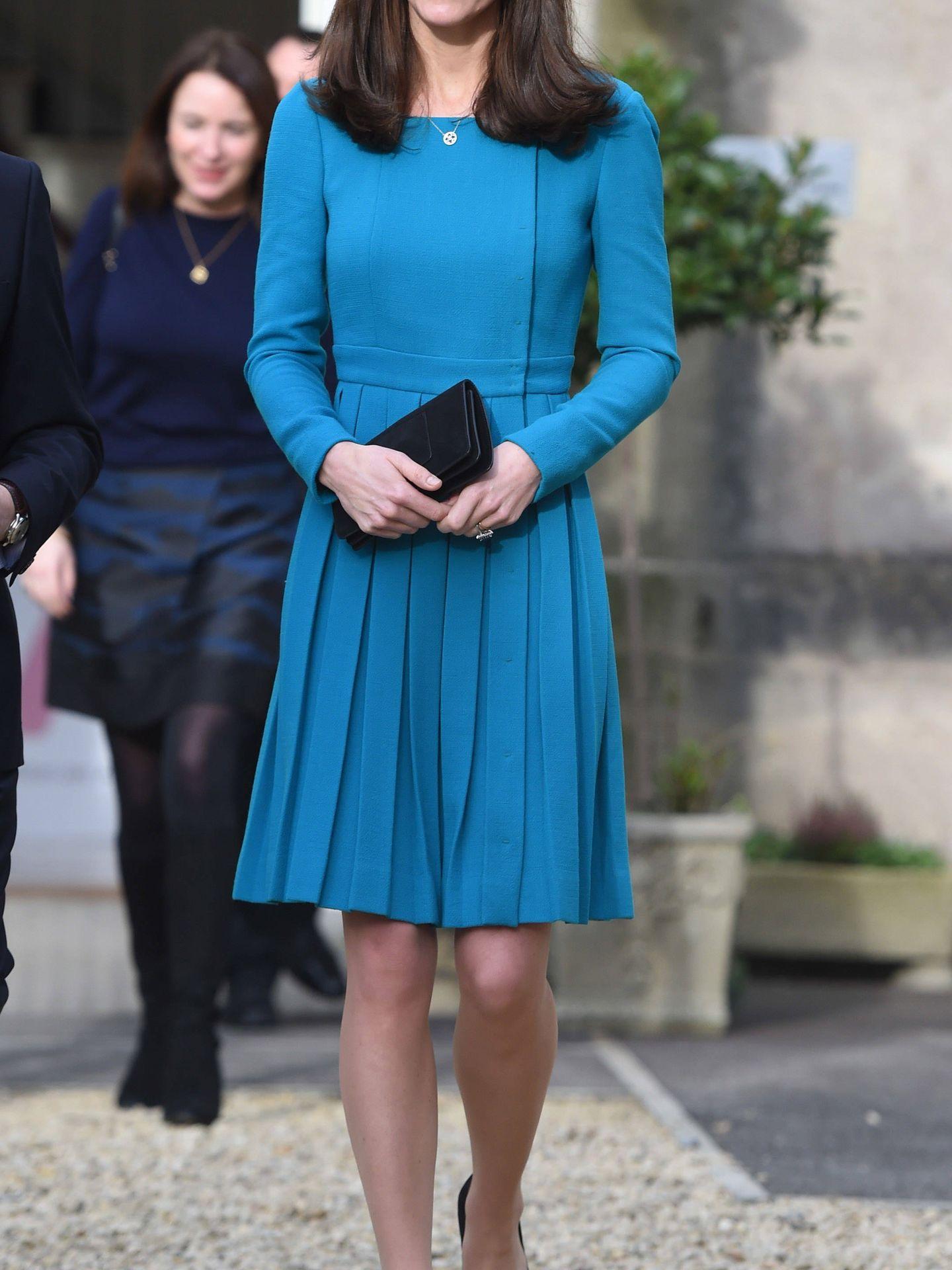 La duquesa de Cambridge en una foto de archivo. (Getty)