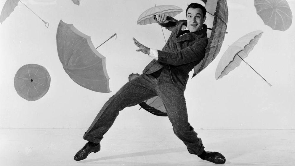 Foto: Gene Kelly en 'Cantando bajo la lluvia'