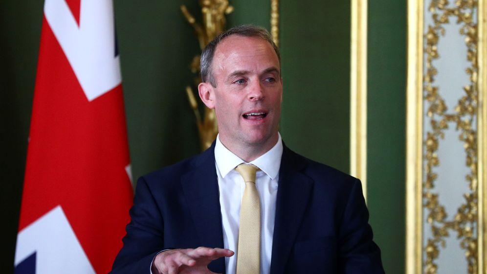 Foto: El ministro de Exteriores británico, Dominic Raab. (Reuters)