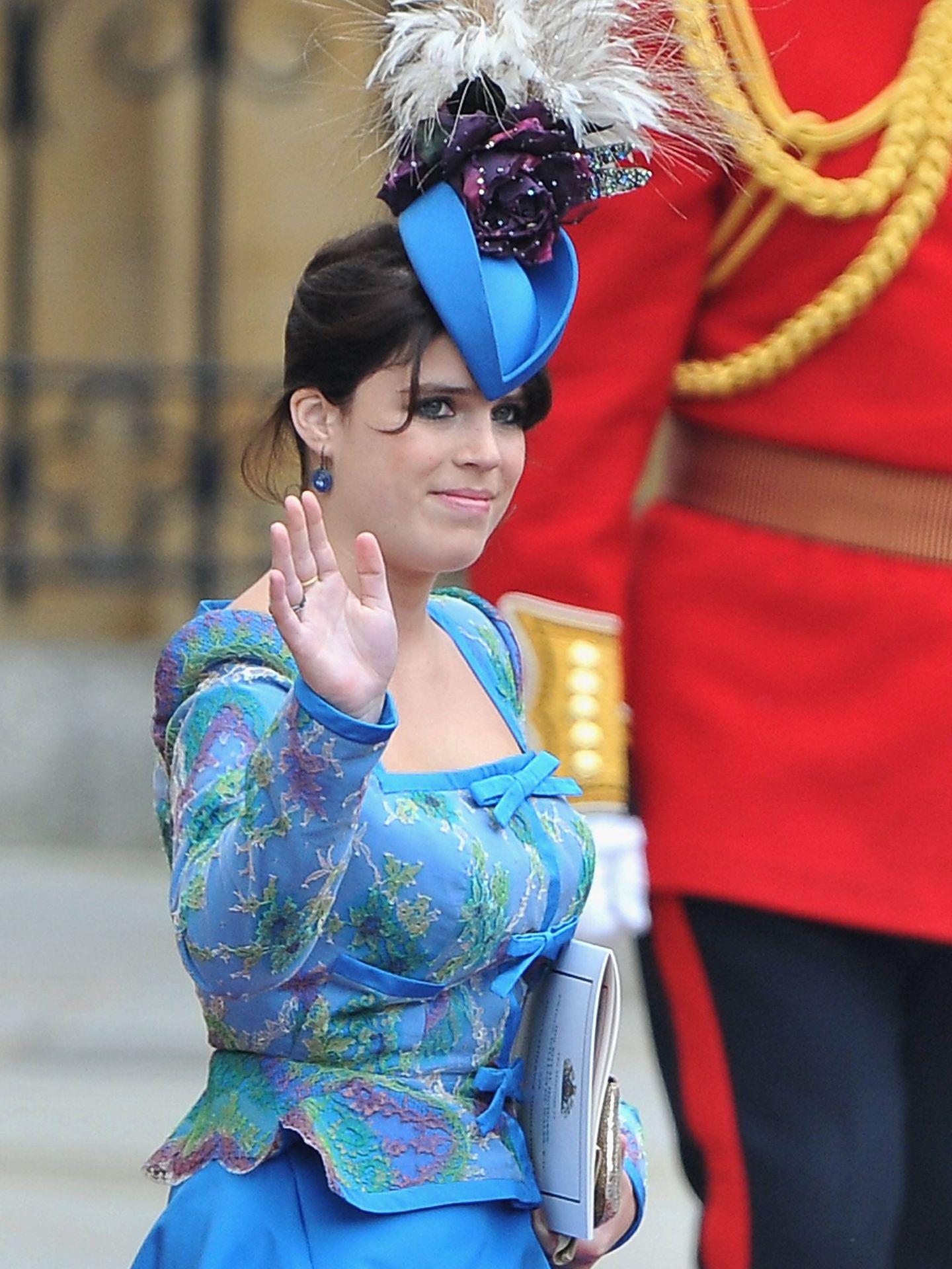 Eugenia de York sí asistió al enlace de Kate y Guillermo en 2011. (Getty)
