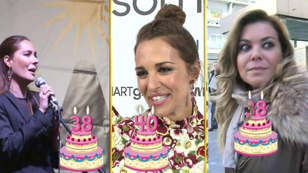 Foto: Chayo Mohedano, Paula Echevarría y María José Campanario.