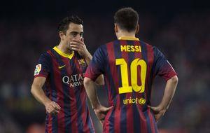 Xavi: Messi sería todavía mejor jugador si estuviera en la Premier
