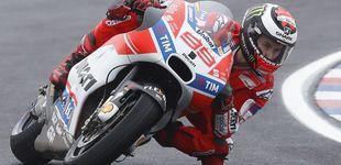 Post de La película de terror que Jorge Lorenzo está grabando en Ducati