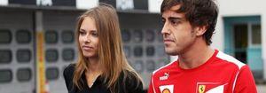 Foto: La novia de Fernando Alonso rompe su silencio