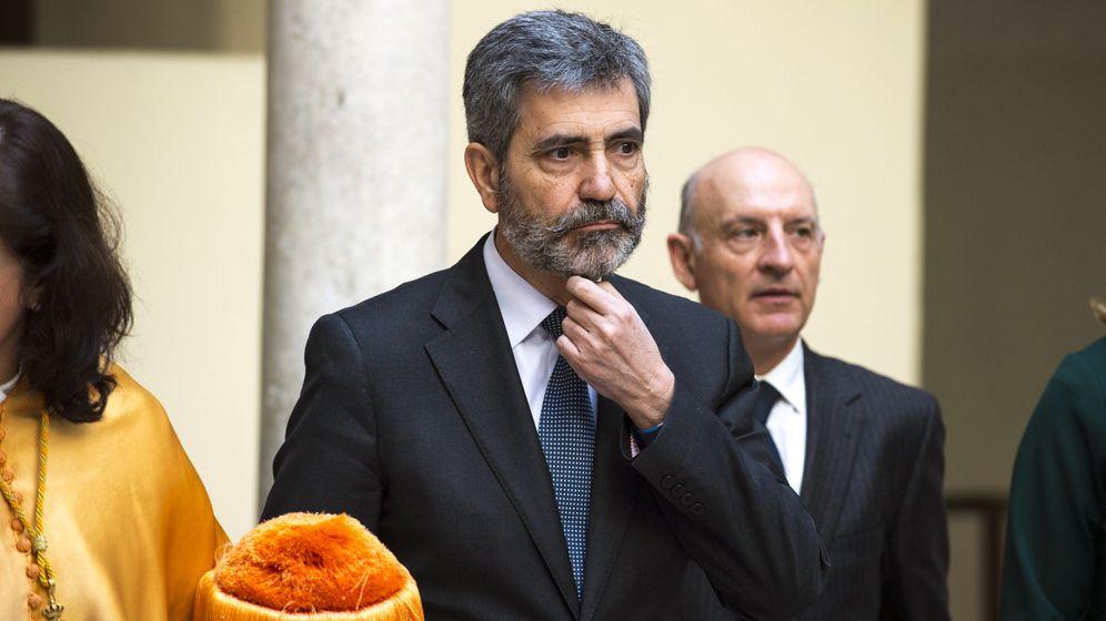 Foto: Carlos Lesmes, presidente del Consejo General del Poder Judicial. (EFE)