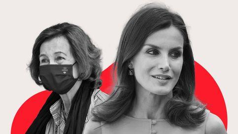 La reina Letizia mejora su imagen y acorta distancias con doña Sofía