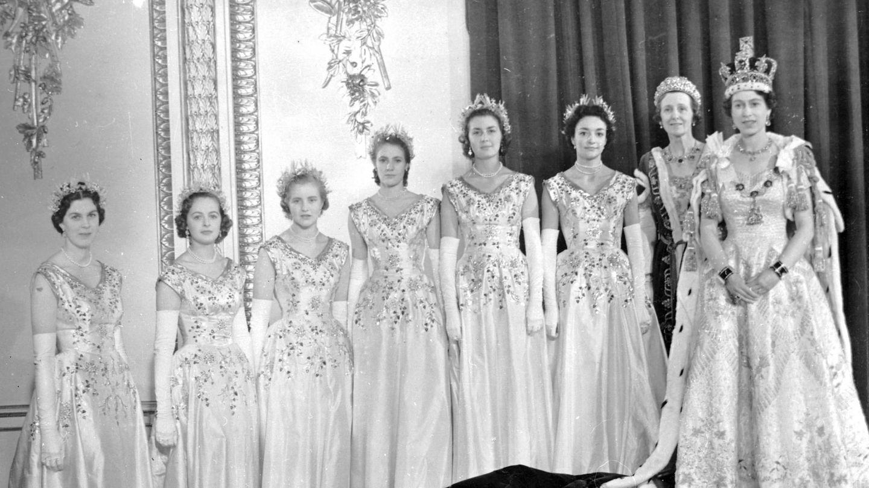 Coronación de la reina Isabel II. (Cordon Press)