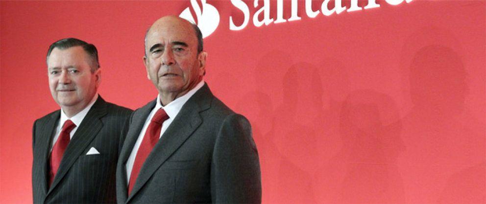 Foto: Botín ganó 3 millones y Sáenz 8,2 en 2012 tras recortar sus bonus a la mitad