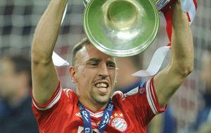 Ribéry puede destronar a Cristiano y Messi como mejor jugador de Europa