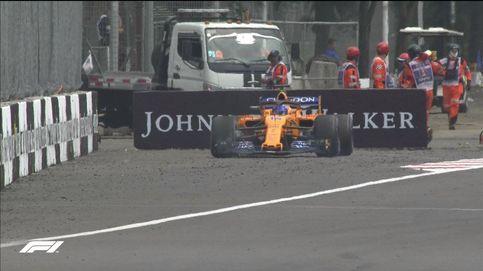 A Alonso le ha mirado un tuerto y el McLaren necesita una ristra de ajos