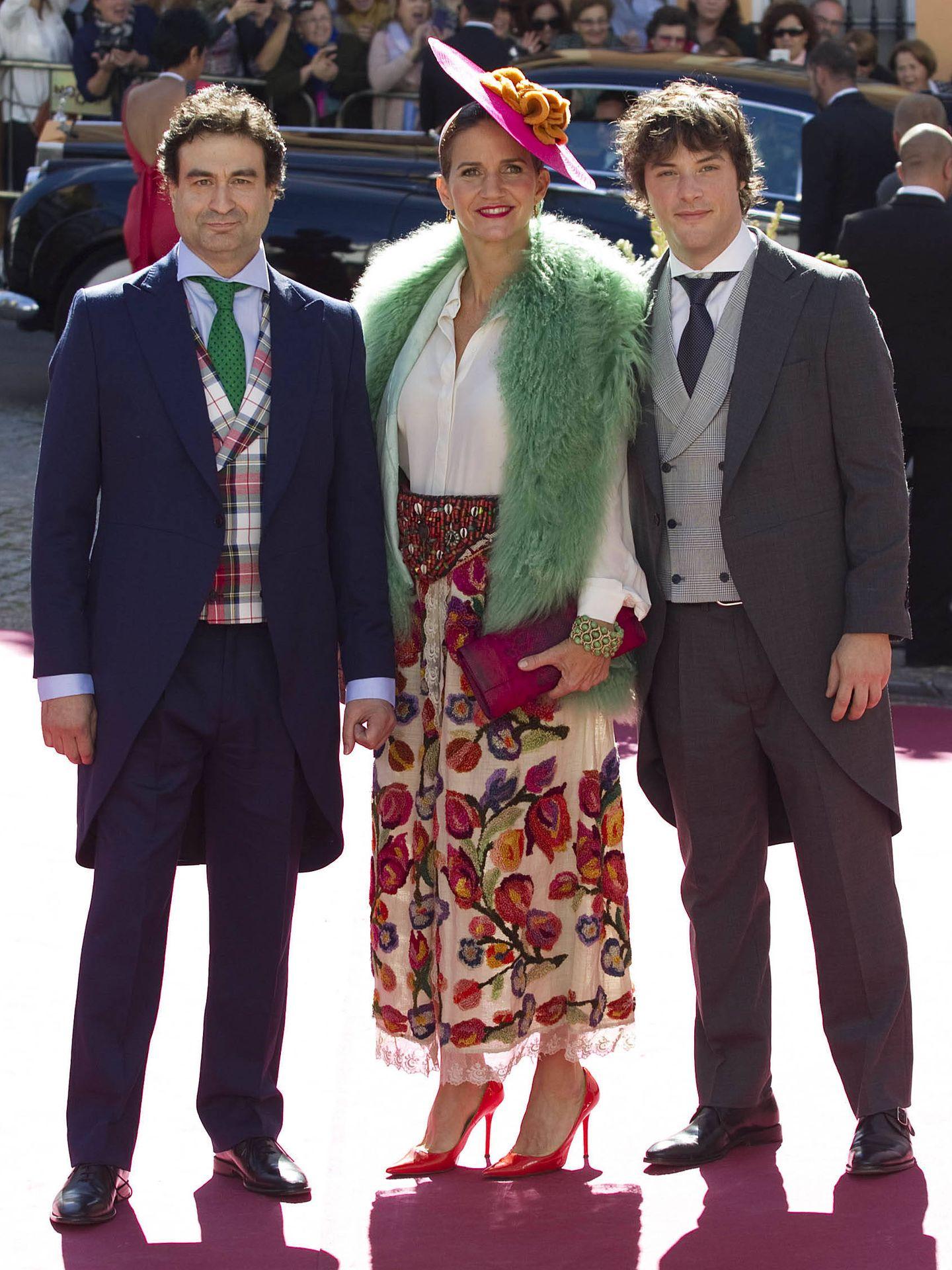 Pepe Rodríguez, Samantha Vallejo-Nágera y Jordi Cruz. (Getty)